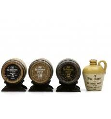 Old St. Andrews Barrels & A Wee Tootie Flagon - Miniatures x4