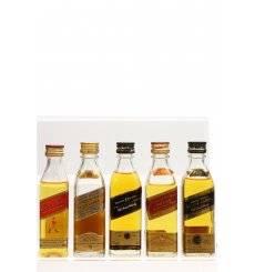 Johnnie Walker Miniatures x5