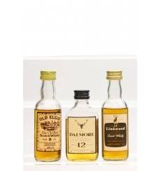 Linkwood 15, Dalmore 12 & Old Elgin 8 - Miniatures x3