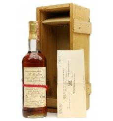 Macallan 1957 - 25th Anniversary Rinaldi Brothers Inc
