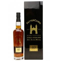 Fettercairn 40 Years Old 1969 - Rare Vintage