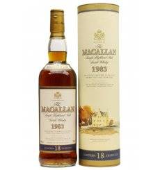 Macallan 18 Years Old 1983