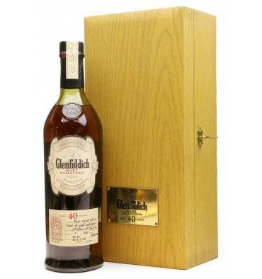 Glenfiddich 40 Years Old - Rare Collection 2002