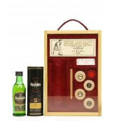 Glenfiddich 12 Years Old - Special Reserve Miniature & Indoor Curling Set