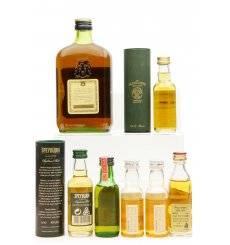 Martell Cognac 70 Proof (34cl) & Assorted Miniatures X6