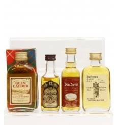 Assorted Blended Miniatures x4 - Incl Ben Nevis Special Reserve