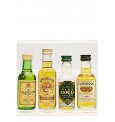 Assorted Miniatures x4 - Incl Glengoyne 10 Pure Malt