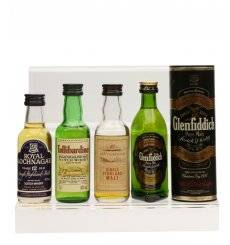 Assorted Miniatures x4 - Incl Glen Garioch 10