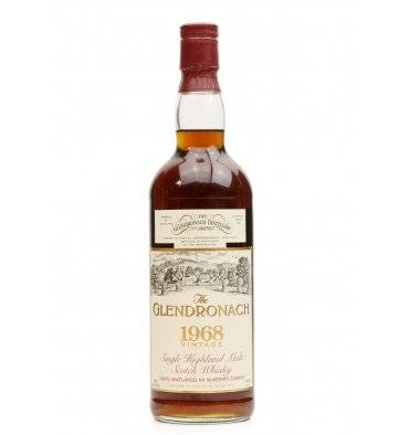 Glendronach 25 Years Old 1968