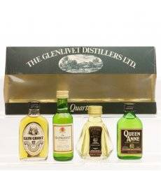 Glenlivet Distillers Miniature Quartet