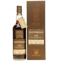 Glendronach 40 Years Old 1972 - Single Cask No.710