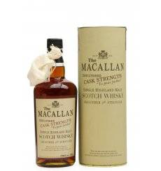 Macallan Cask Strength 1990 - Sherry Butt (50cl)