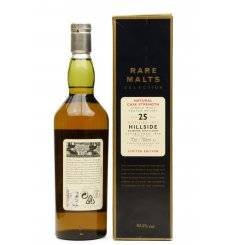 Hillside 25 Years Old 1971 - Rare Malts Selection