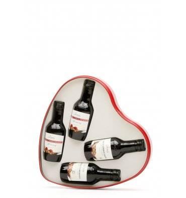 Chocolate & Cherry Valentine's Liqueur Set (4x 5cl)