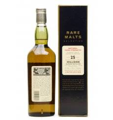Hillside - Glenesk 25 Years Old 1970 - Rare Malts