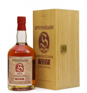 Springbank 25 Years Old - Dumpy