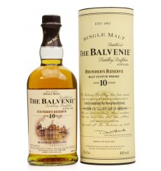 Balvenie 10 Years Old Founder's Reserve Bank of Scotland Corporate
