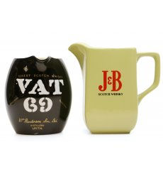 Assorted Water Jugs X2