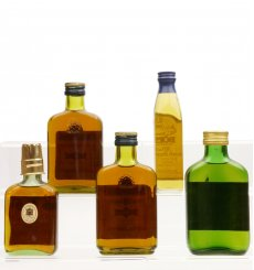 Assorted Non Whisky Bottles x5