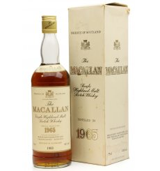 Macallan 1965 - 1983 Special Selection