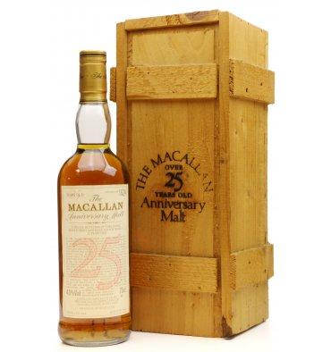 Macallan Over 25 Years Old 1964 - Anniversary Malt