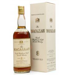 Macallan 8 Years Old - Campbell Hope & King (75 Proof)