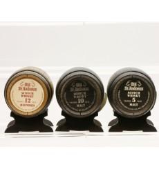 Old St. Andrews Barrel Miniatures (3x5cl)