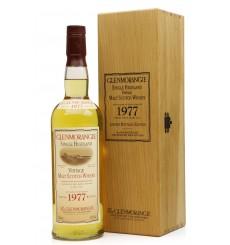 Glenmorangie 1977 - 2003 Limited Bottling Edition