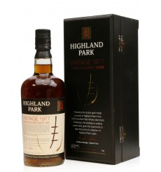 Highland Park 1977 - Scottish Field Merchant's Cask 4258