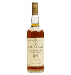 Macallan 18 Years Old 1970