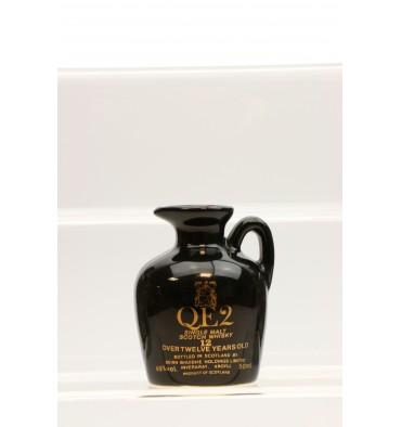 QE2 Miniature Ceramic Decanter 12 Years Old