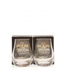 Tomatin Glasses x2