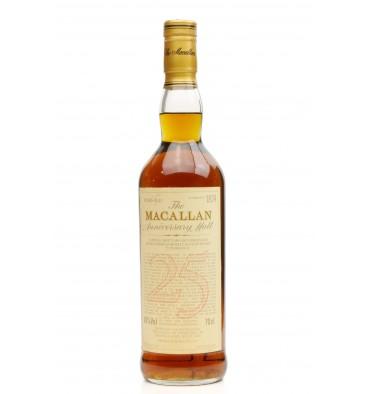 Macallan Over 25 Years Old 1967 - Anniversary Malt