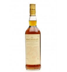 Macallan Over 25 Years Old 1967 - Anniversary Malt