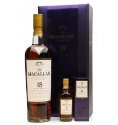 Macallan 18 Years Old 1991 & Miniature - Gift Box Set