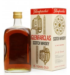 Glenfarclas 15 Years Old All Malt Unblended - for Associated Biscuits Ltd.