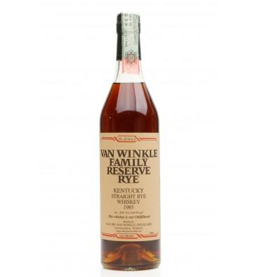 Van Winkle 1985 - Family Reserve Rye 100° Proof