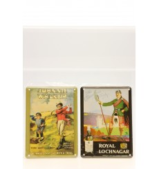 Collectable Tin Cards x2