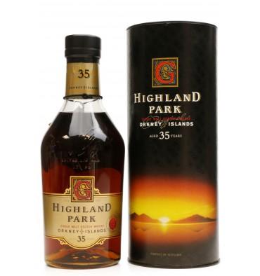Highland Park 35 Years Old - John Goodwin Retirement