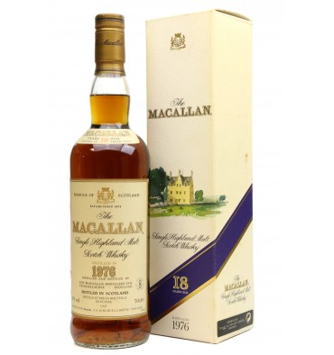 Macallan 18 Years Old 1976