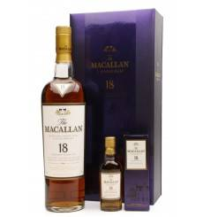 Macallan 18 Years Old 1991 & Miniature - Gift Box Set