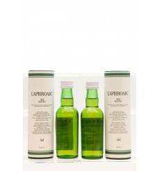 Laphroaig 10 Years Old Miniatures X2