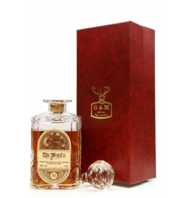 Macphail's 36 Years Old 1950 Decanter - G&M (75cl)