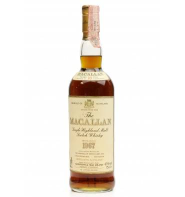 Macallan 18 Years Old 1967