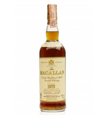 Macallan 18 Years Old 1972