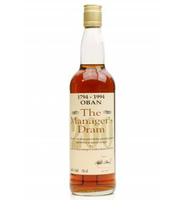Oban 16 Years Old 200th Anniversary - The Manager's Dram