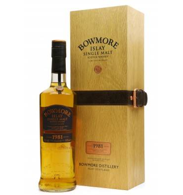 Bowmore 28 Years Old 1981 - 2010 Vintage Edition