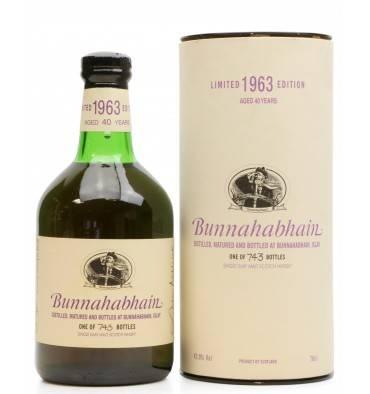 Bunnahabhain 40 Years Old 1963 - Limited Edition