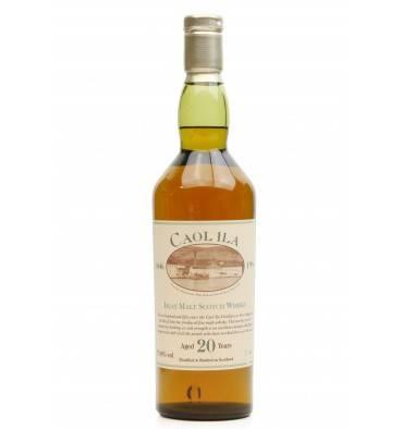 Caol Ila 20 Years Old - 150th Anniversary