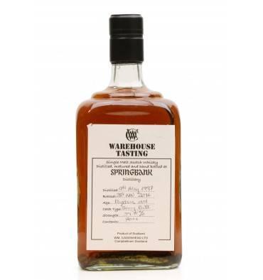 Springbank 19 Years Old 1997 - Cadenhead's Warehouse Tasting